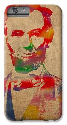 Abraham Lincoln iPhone 6 Plus Cases