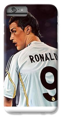 Cristiano Ronaldo iPhone 6 Plus Cases