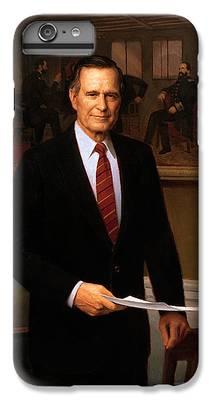 George Bush iPhone 6 Plus Cases