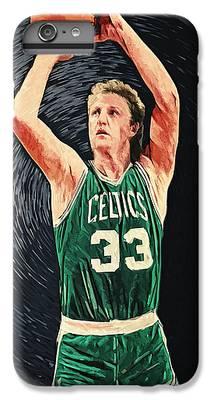 Larry Bird iPhone 6 Plus Cases