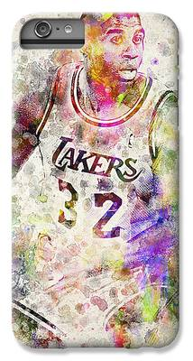 Magic Johnson iPhone 6 Plus Cases