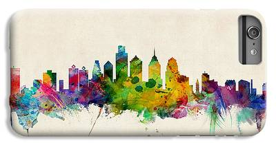 Philadelphia Skyline iPhone 6 Plus Cases
