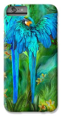 Macaw iPhone 6 Plus Cases