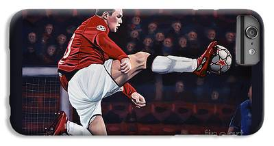 Wayne Rooney iPhone 6 Plus Cases