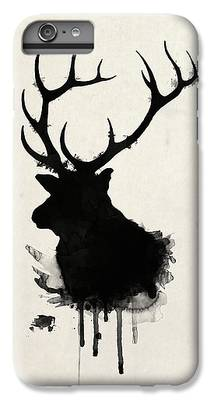 Nature Drawings iPhone 6 Plus Cases