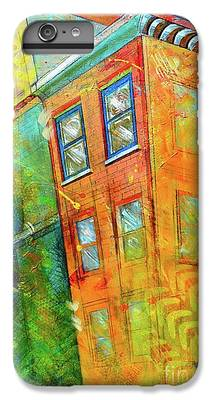 Building Paintings iPhone 6 Plus Cases
