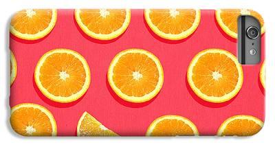 Orange iPhone 6 Plus Cases