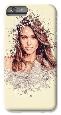 Jessica Alba IPhone 6 Plus Cases