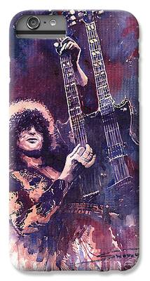 Jimmy Page iPhone 6 Plus Cases