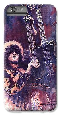 Rock Music Jimmy Page iPhone 6 Plus Cases