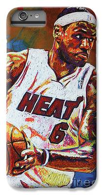 Lebron James iPhone 6 Plus Cases