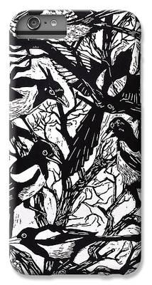 Magpies iPhone 6 Plus Cases