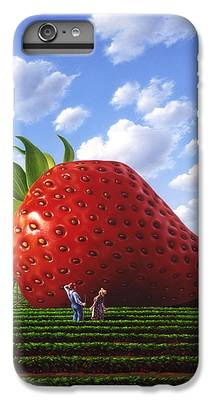 Strawberry iPhone 6 Plus Cases