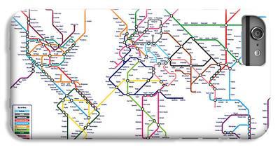 London Tube IPhone 6 Plus Cases