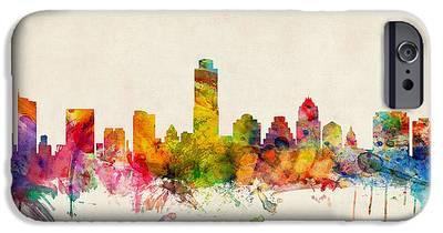 Austin Skyline iPhone 6s Cases