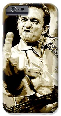 Johnny Cash iPhone 6s Cases