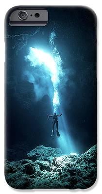 Scuba Diver iPhone 6s Cases