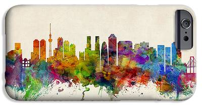 Tokyo Skyline iPhone 6s Cases