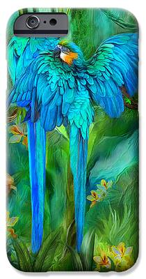 Macaw iPhone 6s Cases