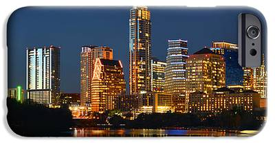 Austin Skyline iPhone 6s Cases