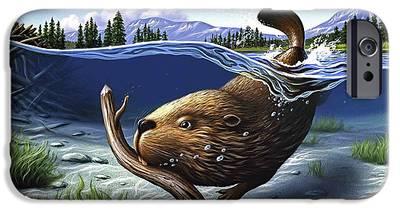 Beaver iPhone 6s Cases
