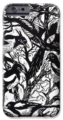 Magpies iPhone 6s Cases