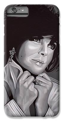 Elizabeth Taylor iPhone 6s Plus Cases