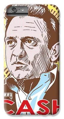 Johnny Cash iPhone 6s Plus Cases