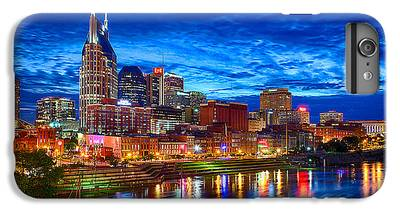 Nashville Skyline iPhone 6s Plus Cases