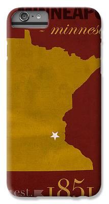 University Of Minnesota iPhone 6s Plus Cases
