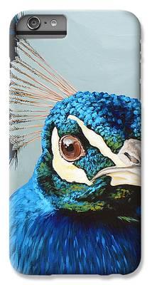 Peacock IPhone 6s Plus Cases