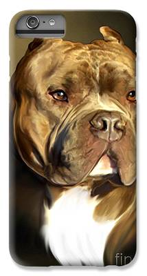 Pitbull IPhone 6s Plus Cases