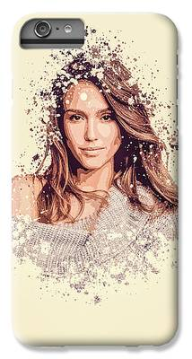 Jessica Alba IPhone 6s Plus Cases