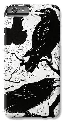 Raven iPhone 6s Plus Cases