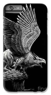 Griffon Drawings iPhone 6s Plus Cases