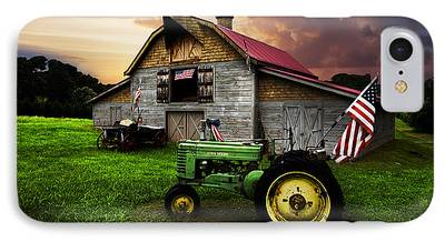 Tennessee Hay Bales iPhone Cases