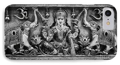 Hindu Goddess Photographs iPhone Cases