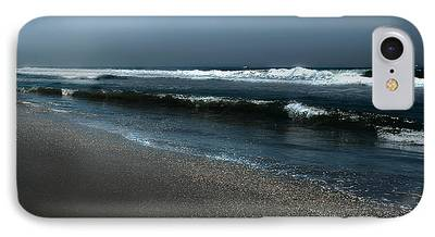 Moonshine On The Beach iPhone Cases