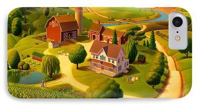 Rural Scene IPhone 7 Cases