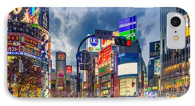 Japan City iPhone Cases
