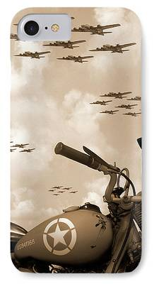 Fighters Digital Art iPhone Cases