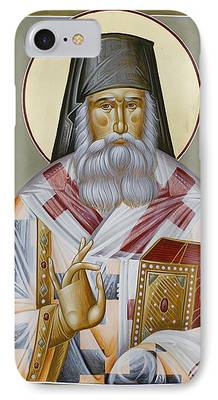 St Nektarios Of Aegina iPhone Cases