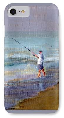 Jersey Shore Paintings iPhone Cases
