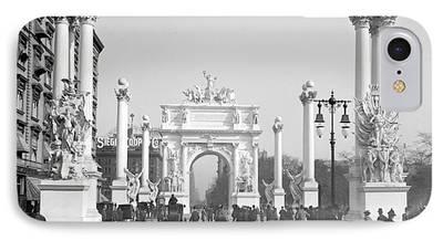 George Dewey Monument iPhone Cases