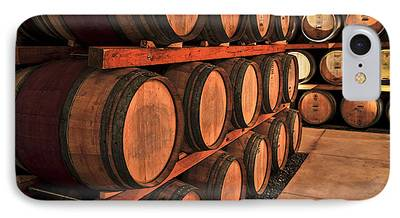 Wine Barrel Photographs iPhone Cases
