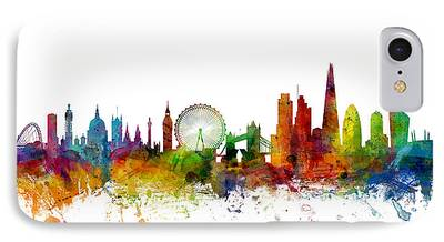 London Skyline iPhone 7 Cases