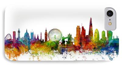 London Skyline iPhone Cases