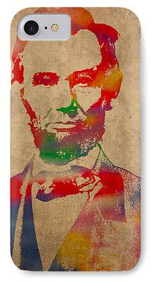 Abraham Lincoln iPhone 7 Cases