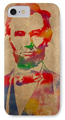 Abraham Lincoln iPhone Cases