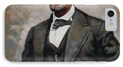 President Paintings iPhone Cases